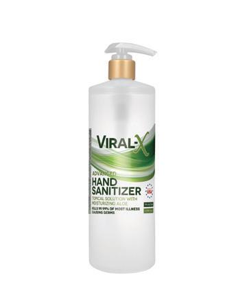 Viral-X Hand Sanitizer with Aloe 1 Liter
