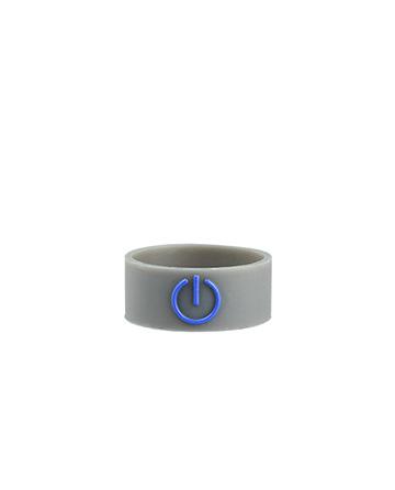 Boss Power Button Grey Single