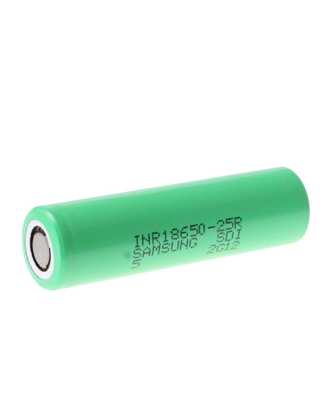 18650 Samsung 25R High Drain Battery 2500mAh