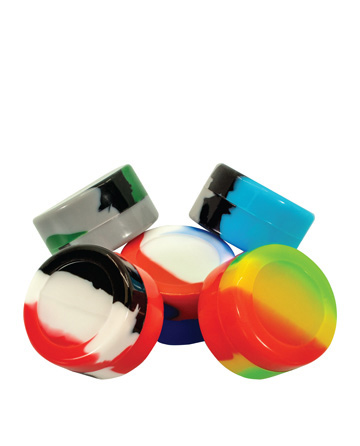Silicone container Small 2-Pack - Rainbow Mix