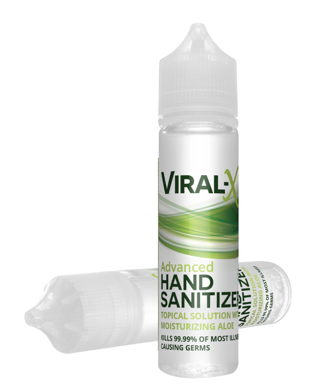 Viral-X Hand Sanitizer with Aloe