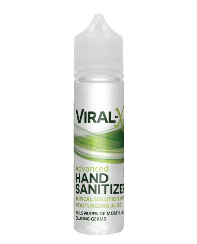 Viral-X Hand Sanitizer with Aloe 60ml